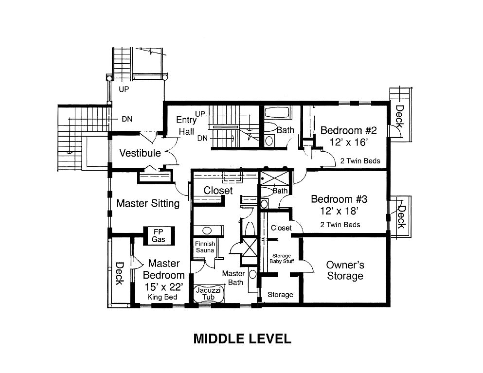 elkview middle level floorplan